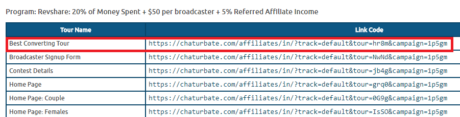 chaturbate referral link