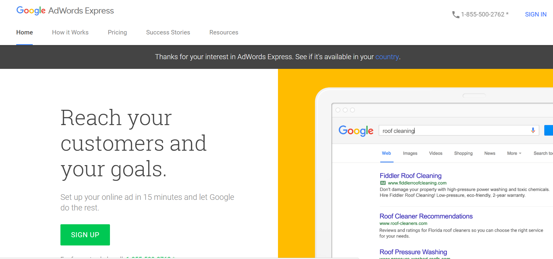 how to use Google Adwards Express