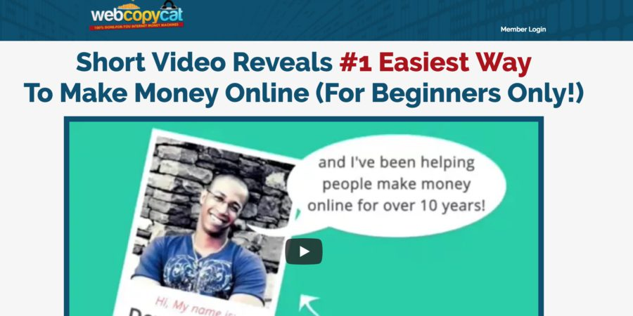 Is Web Copy Cat a Scam or a Legit Opportunity to Make Money on Autopilot