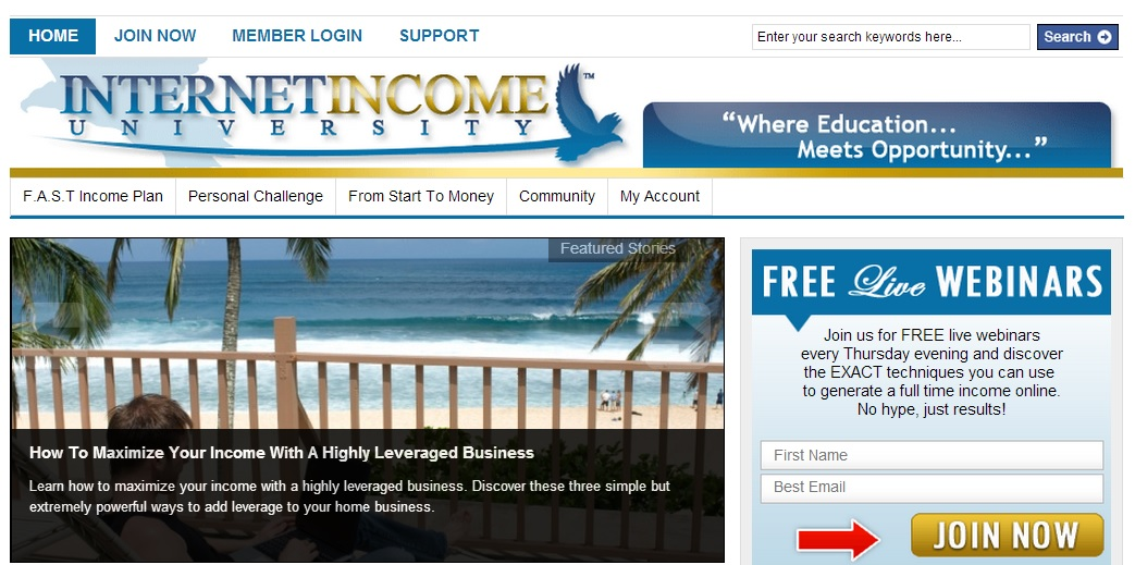 Is Internet Income University a Scam?