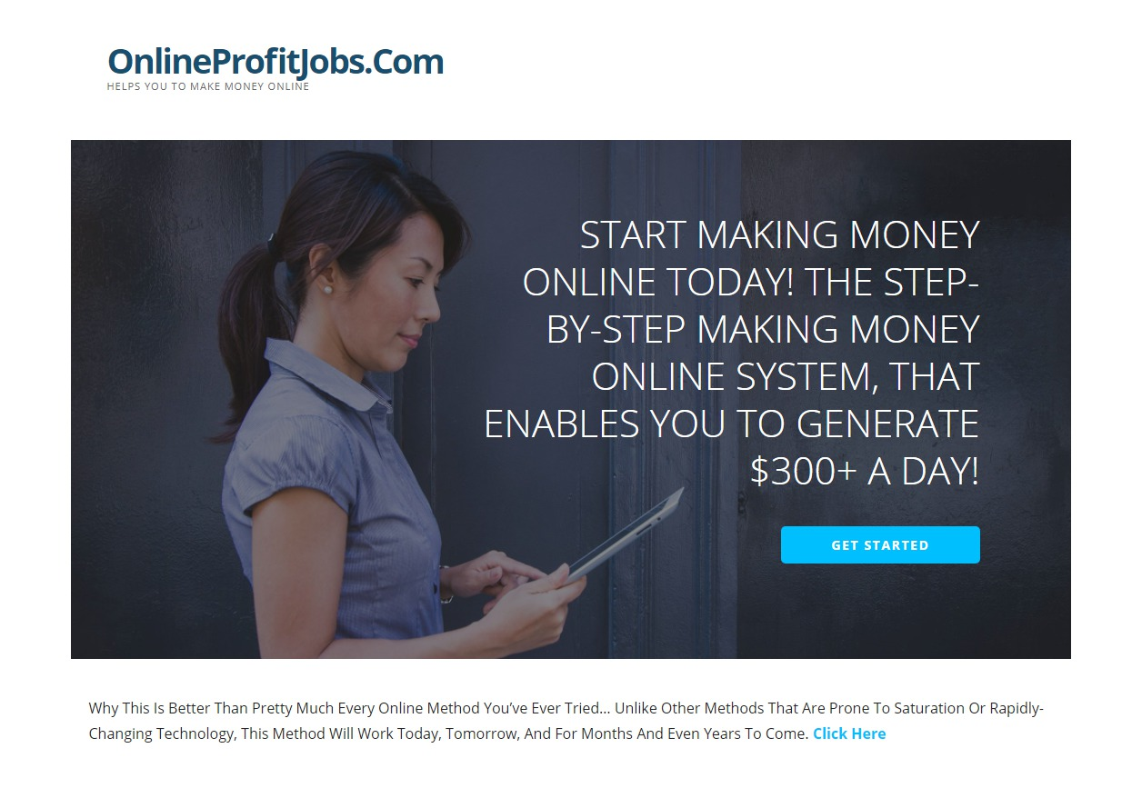 Online Profit Jobs Review – Scam ALERT !!!