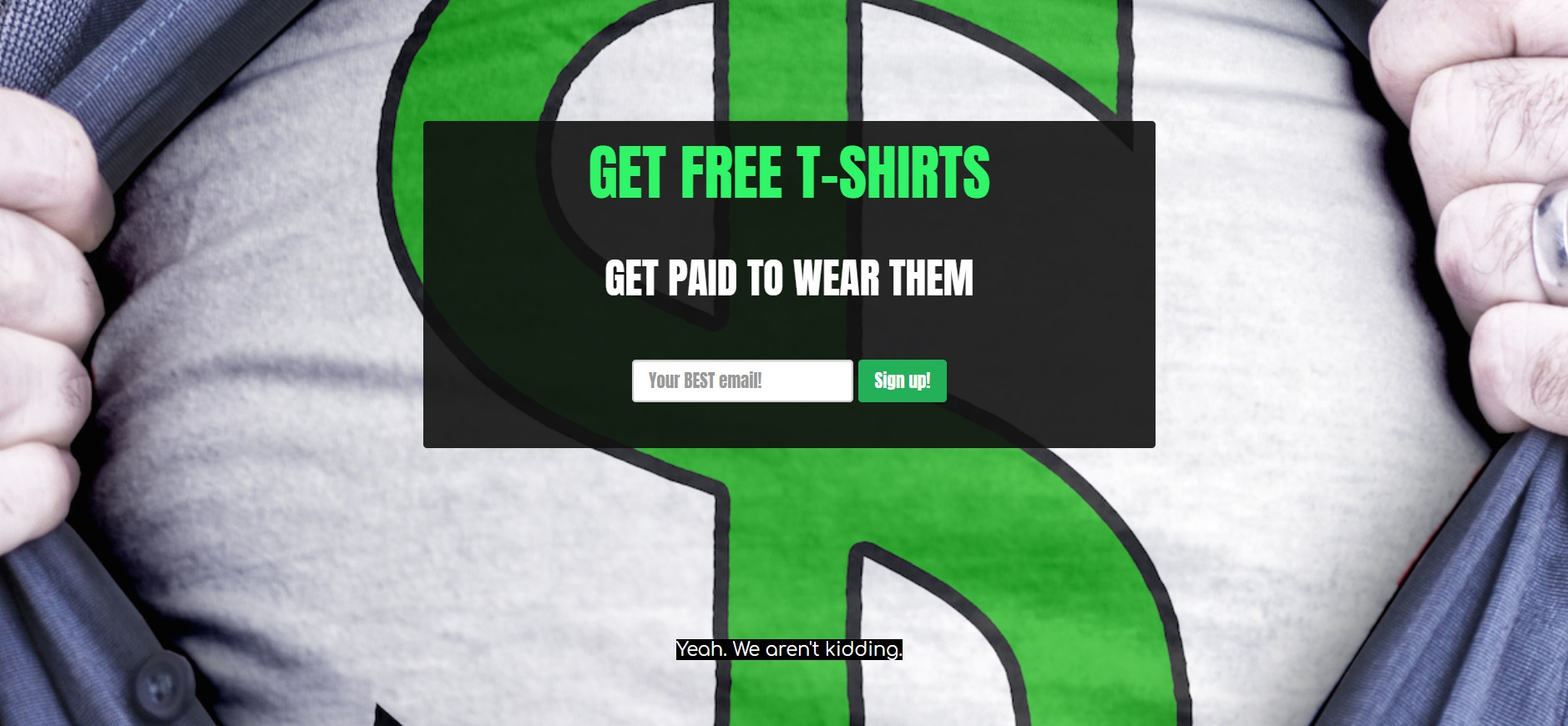 Teespay Review: Get Paid $10 to Wear a Free Teeshirt